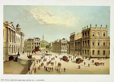 Edinburgh Photograph - View Of Edinburgh by British Library