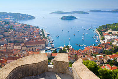 Outerspace Patenets Rights Managed Images - View of Hvar Royalty-Free Image by Alexey Stiop