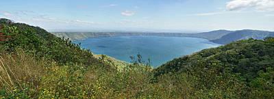 View Of Laguna De Apoyo Art Print by Panoramic Images