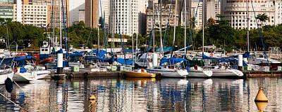 Photograph - View Of Marina Da Gloria In Rio De Janeiro by Celso Diniz