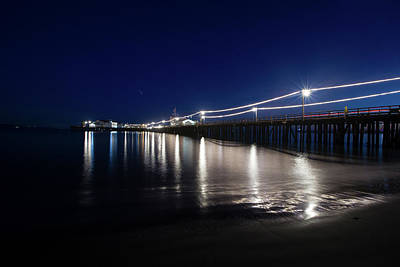 Photograph - View Of Pier At Pacific Coast, Cayucos by Panoramic Images