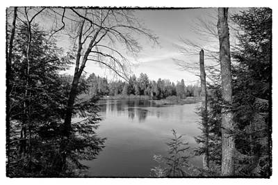 View Of The Moose River From The Lock And Dam Trail Art Print