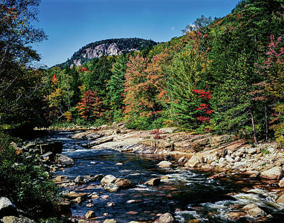 View Of The Swift River Art Print