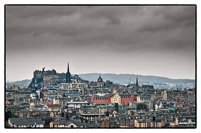 Photograph - Views Across Edinburgh by Lenny Carter