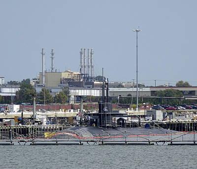 Caravaggio - Views Of Norfolk Naval Station 17  by Rick Rosenshein