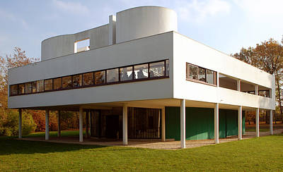 Villa Savoye - Le Corbusier Art Print by Peter Cassidy