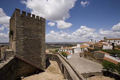 Village Of Monsaraz Portugal Art Print by Jim  Wallace
