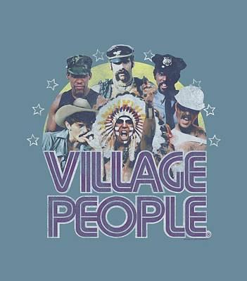 Village People Digital Art - Village People - Group Shot by Brand A