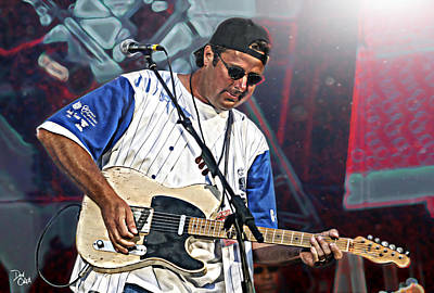 Vince Gill Art Print by Don Olea