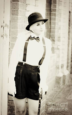 Suspenders Photograph - Vintage Charm by Jorgo Photography - Wall Art Gallery