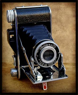 Photograph - Vintage Foldex 20 Camera by James C Thomas