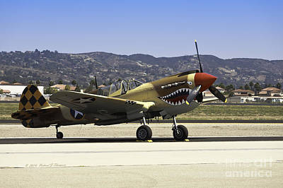 Photograph - Vintage Military Aircrafts by Richard J Thompson