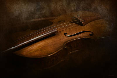 Violin Digital Art - Vintage by Ron Jones