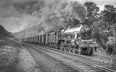Photograph - Vintage Steam Locomotive 45599 by David Birchall