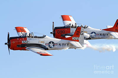 Photograph - Vintage T-28 Aircraft by Kevin McCarthy