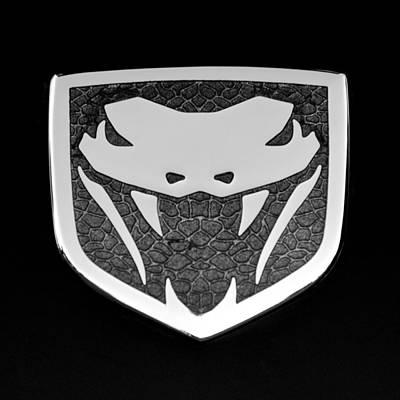 Viper Wall Art - Photograph - Viper Emblem by Jill Reger
