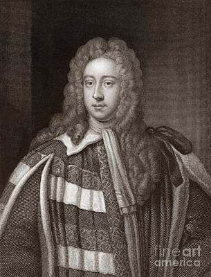 Viscount Bolingbroke, English Statesman Art Print by Middle Temple Library