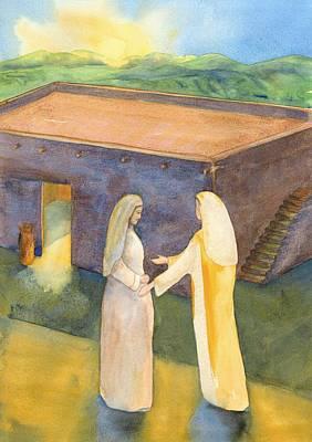 Visitation Painting - Visitation by John Meng-Frecker