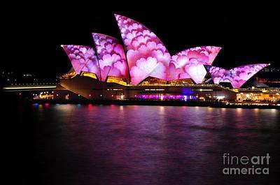 Photograph - Vivid Sydney 2014 - Opera House 2 By Kaye Menner by Kaye Menner