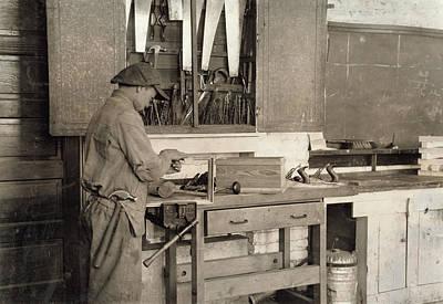 Vocational School, 1917 Art Print