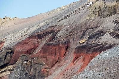 Deception Photograph - Volcanic Rocks On Deception Island by Ashley Cooper