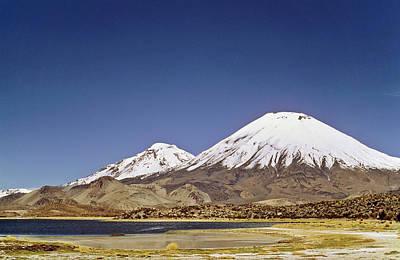 Volcano Parinacota (6342m Art Print by Martin Zwick