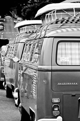 Photograph - Volkswagen Vw Bus by Jill Reger