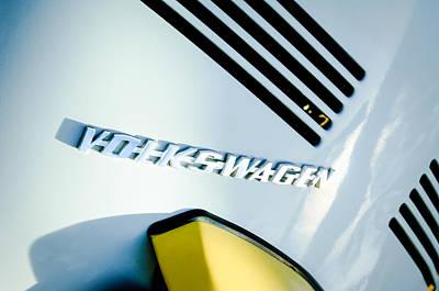 Photograph - Volkswagen Vw Emblem by Jill Reger