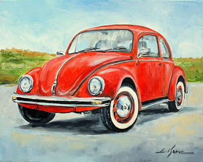 Vw Beetle Art Print