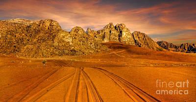 Jordanian Photograph - Wadi Rum Jordan by Dan Yeger