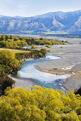 Canterbury Wall Art - Photograph - Waiau River Hanmer Springs New Zealand by Colin and Linda McKie