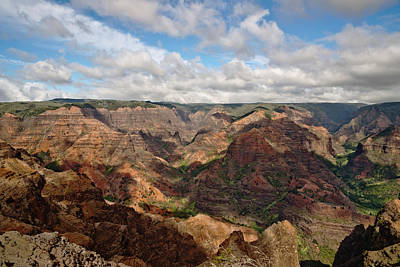 Easter Bunny - Waimea Canyon  Kauai Hawaii by Marek Poplawski
