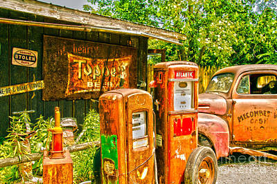 Photograph - Waiting For Gas by William Norton