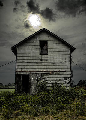 Haunted House Photograph - Waiting by John Crothers