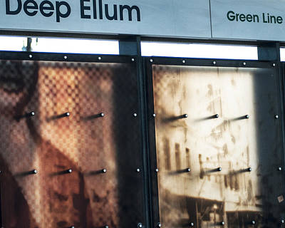 Photograph - Waiting On The Train by Jeff Mize
