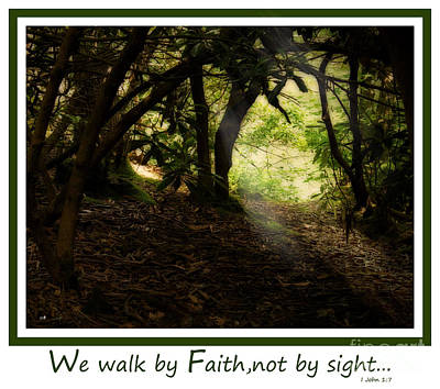 Photograph - Walk By Faith by Sandra Clark