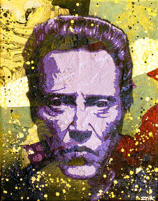 Walken My Ass Off Art Print by Bobby Zeik