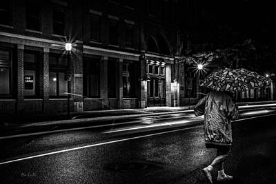 Photograph - Walking In The Rain   by Bob Orsillo