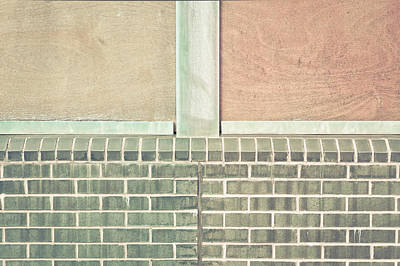 Solid Photograph - Wall Background by Tom Gowanlock