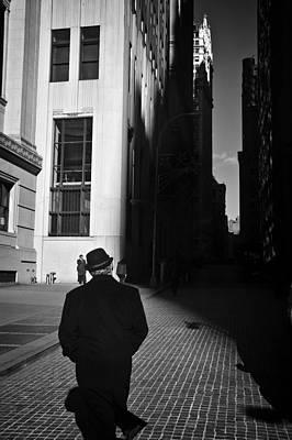 Wall Street In New York City Art Print by Ilker Goksen