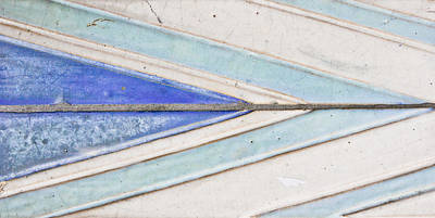 Ceramic Tile Photograph - Wall Tiles by Tom Gowanlock