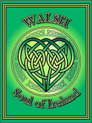 Walsh Digital Art - Walsh Soul Of Ireland by Ireland Calling
