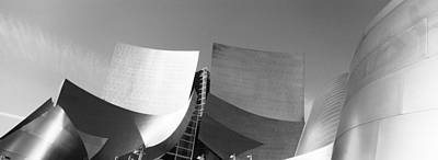 Titanium Photograph - Walt Disney Concert Hall, Los Angeles by Panoramic Images