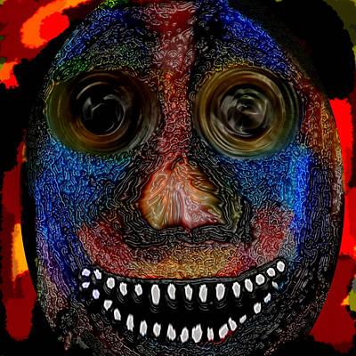 Digital Art - Walter by Coal