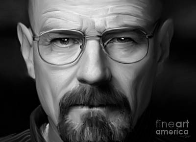 Walter White - Color Art Print