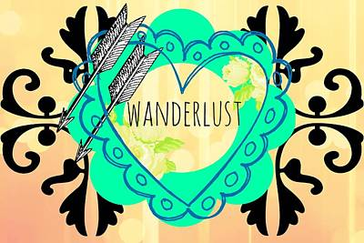 Gypsy Digital Art - Wanderlust by Chastity Hoff