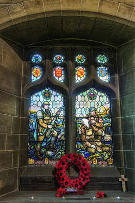 Photograph - War Memorial Window by Ian Mitchell