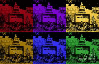 Warhol Photograph - Warhol Pop Art Grave II by Pittsburgh Photo Company