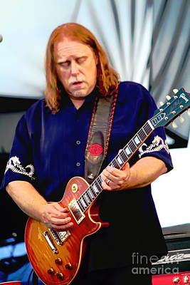 Photograph - Warren Haynes Band by Jesse Ciazza