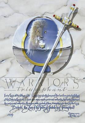 Warriors Triumphant Art Print by Cliff Hawley
